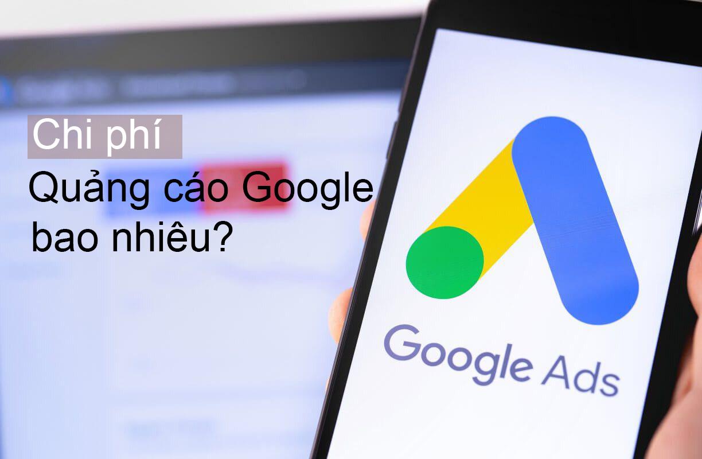 quảng cáo trên google giá bao nhiêu