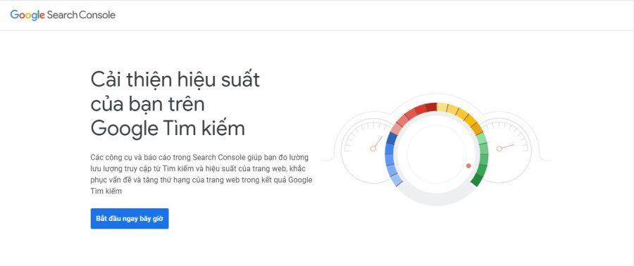 Tạo tài khoản Google Webmaster Tools