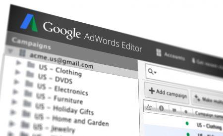 Google cập nhật Adwords Editor 11.3