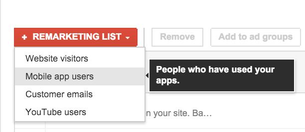 Remarketing Apps