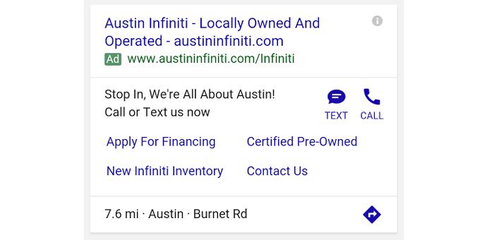 thay đổi của google adwords sms