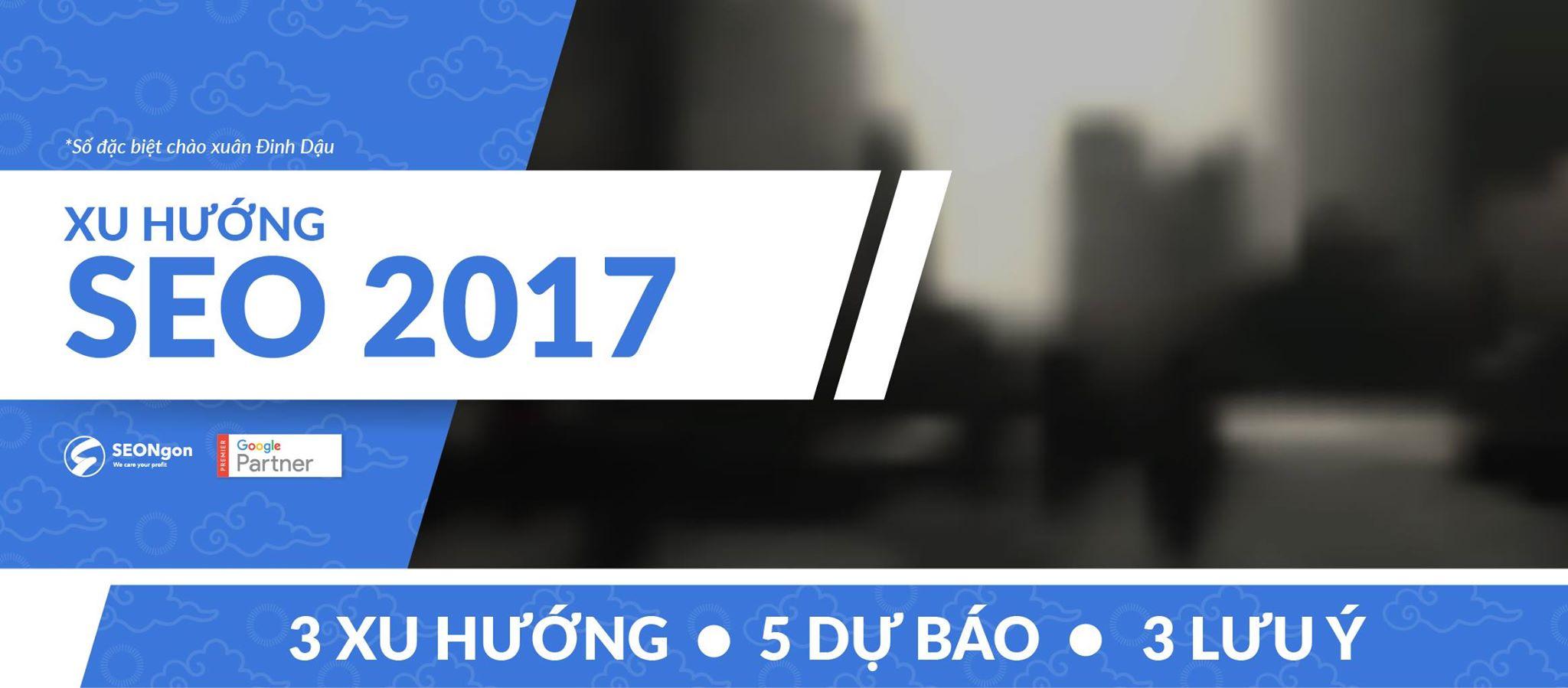 Xu huong SEO 2017