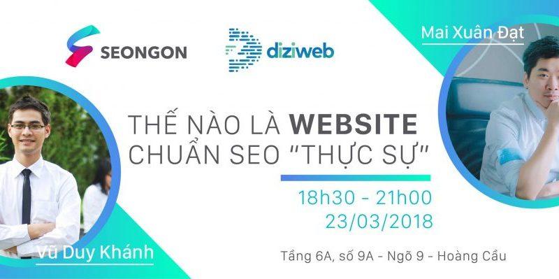 Thiết kế Web chuẩn SEO là gì? Làm web chuẩn SEO ở đâu