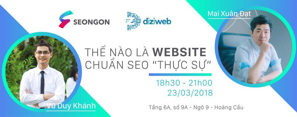 su-kien-website-chuan-seo-cua-seongon-diziweb