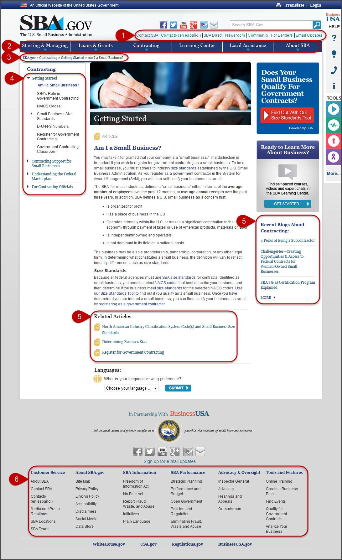 6 yếu tố điều hướng trên website