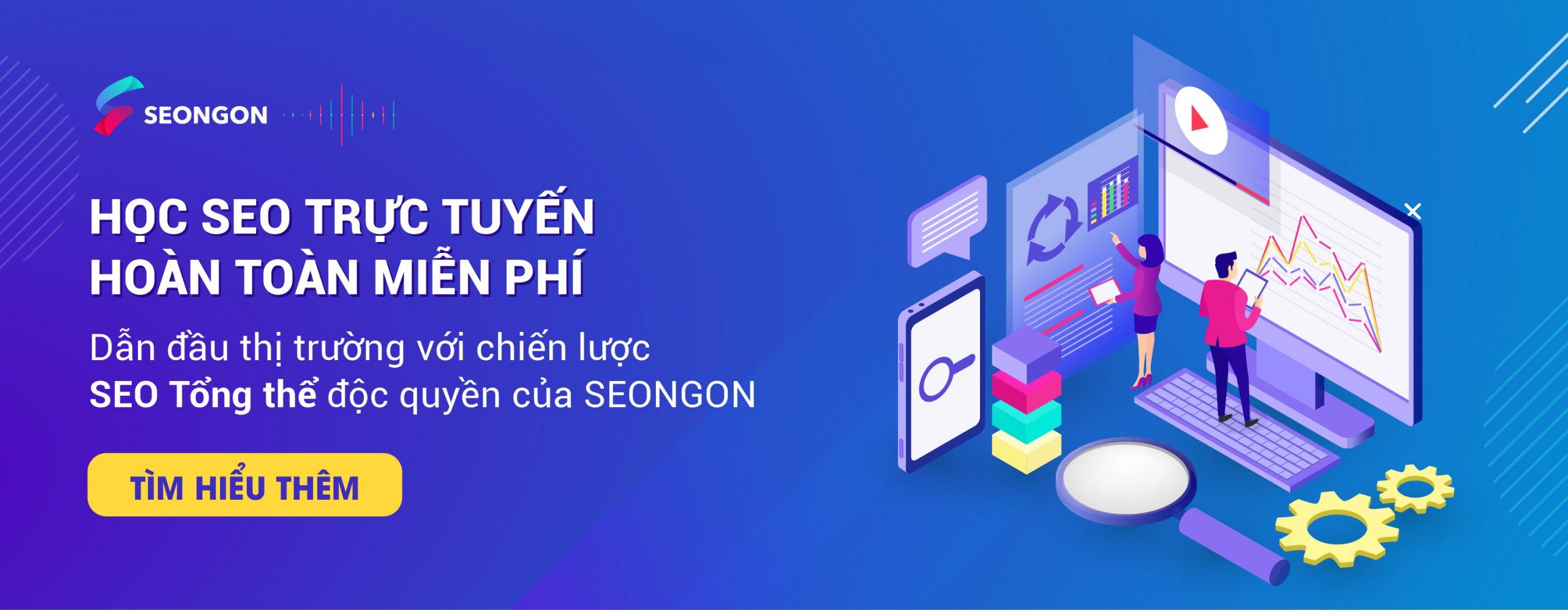 đào tạo seo tại seongon