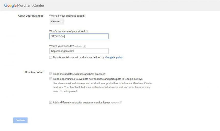Google Shopping vận hành