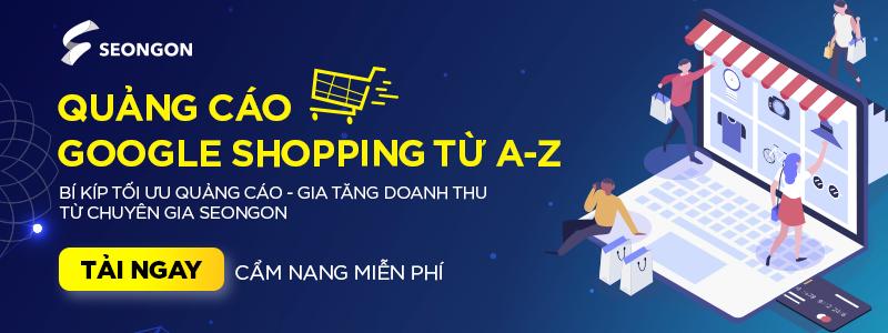 quảng cáo google shopping ads