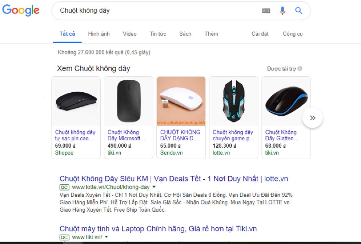 Quảng cáo Google Shopping Step by Step