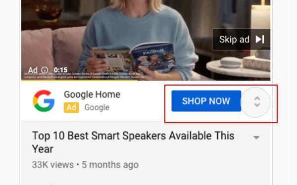 Quảng cáo mở rộng của Google trên Youtube