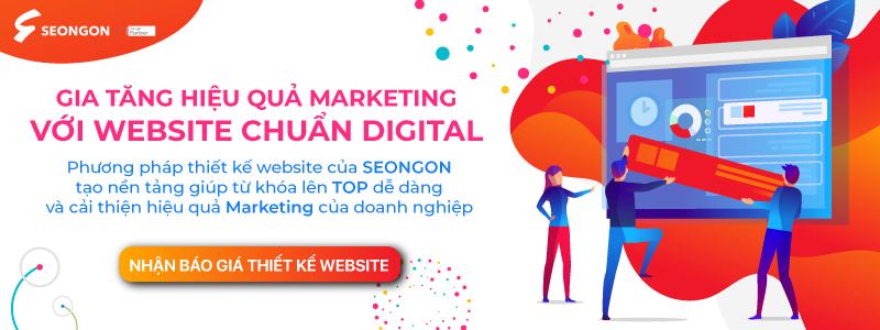 dịch vụ thiết kế website - CTA