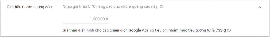 Đặt giá thầu quảng cáo google dislay network