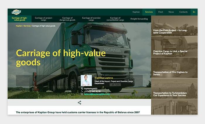Thiết kế website vận tải: Các chức năng cần có và 7 tips thiết kế