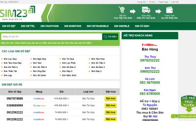 Thiết kế website bán sim: Những điều cần biết để thiết kế hiệu quả