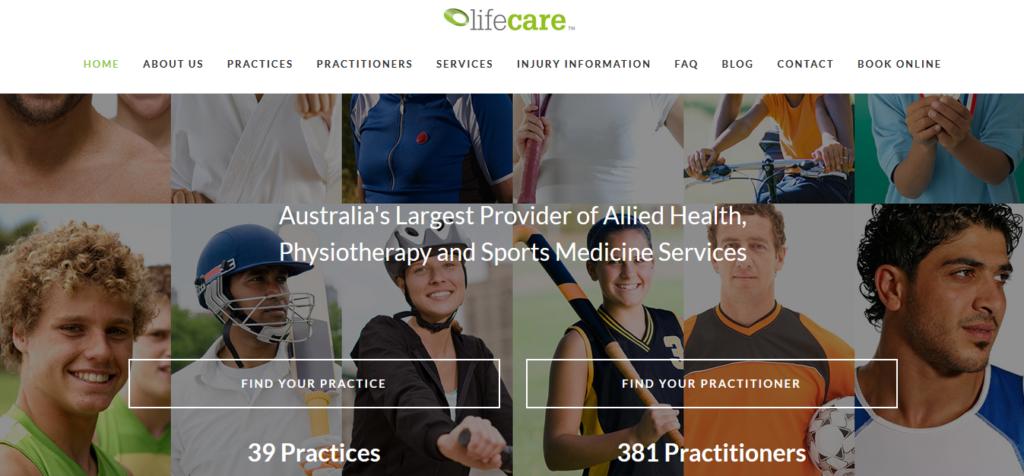 Thiết kế website phòng khám Lifecare