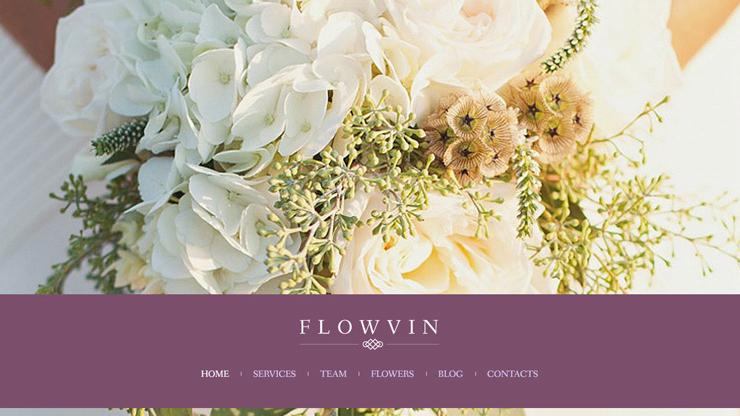 Thiết kế website shop hoa: Tham khảo 9 mẫu giao diện nổi bật
