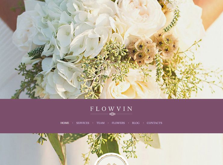 thiết kế website shop hoa - Flowvin