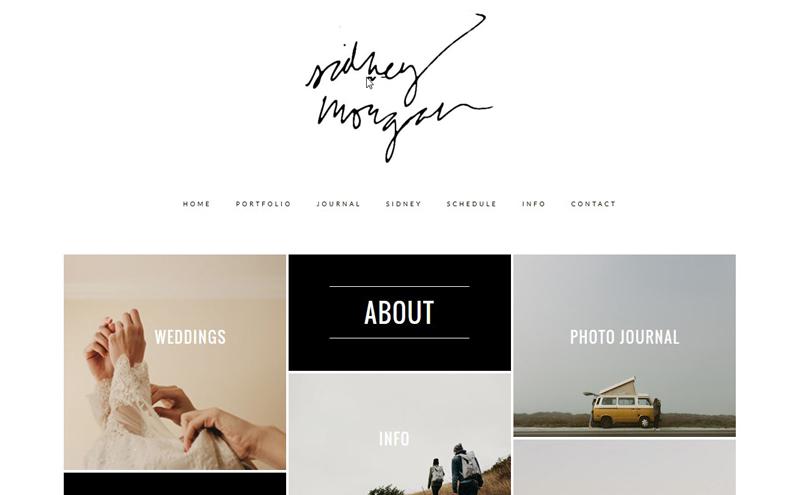 Thiết kế website Studio - Sidney Morgan