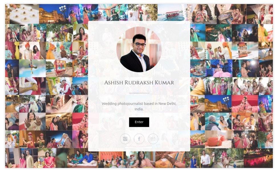 Ashish Rudraksh Kumar - Thiết kế website studio