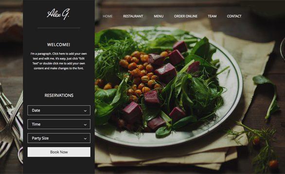Làm website nhà hàng: 4 chú ý và 15 mẫu thiết kế nổi bật