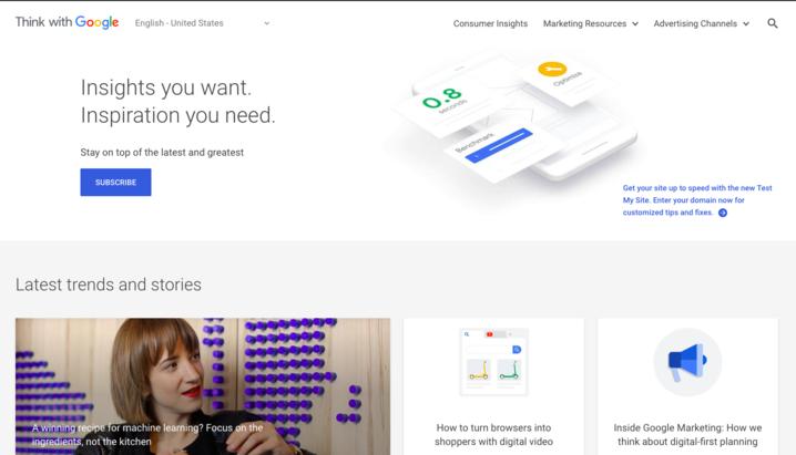 Tổng hợp các nguồn tài liệu chính thống và uy tín nhất về Google Marketing.