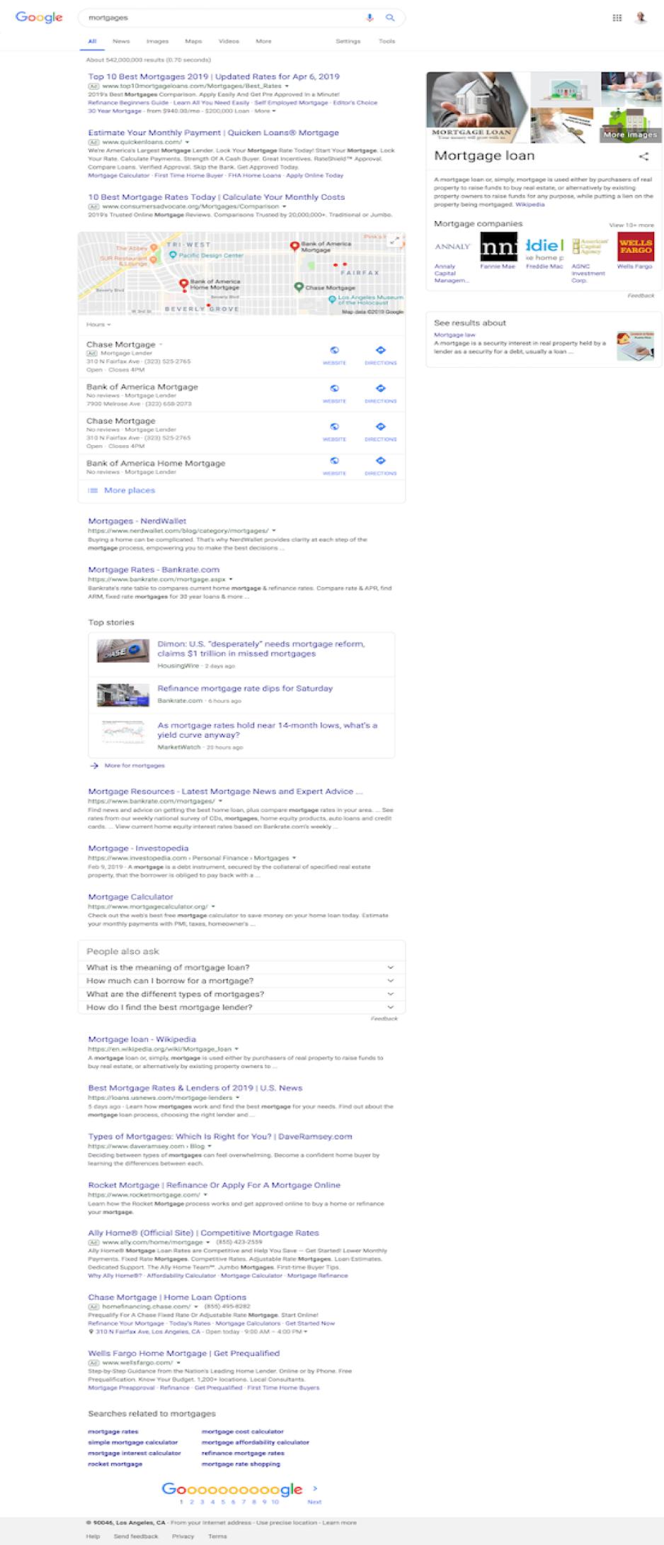 Vị trí top 1 Google