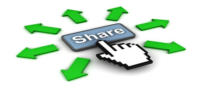 Chia sẻ nội dung trên Internet là cách làm backlink hiệu quả