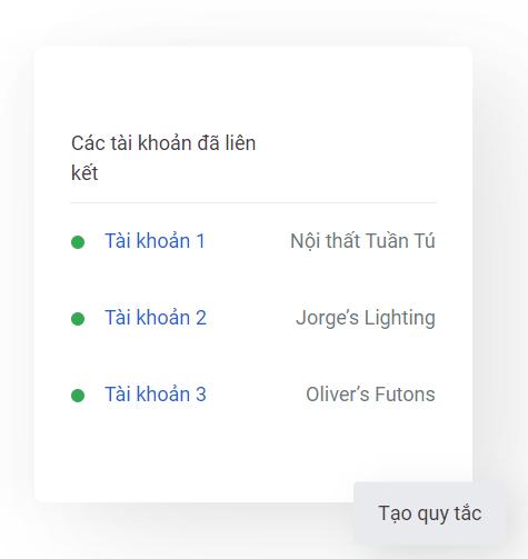 tạo mcc google ads