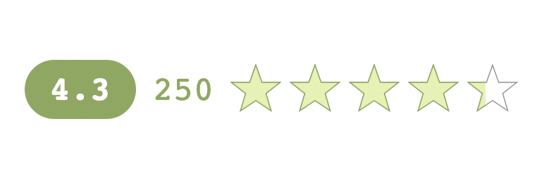 KK Star Ratings