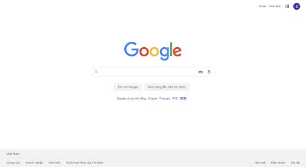 sử dụng công cụ google search box để nghiên cứu từ khóa