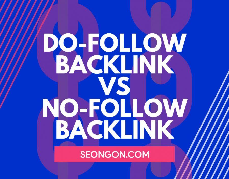 dofollow vs nofollow backlink