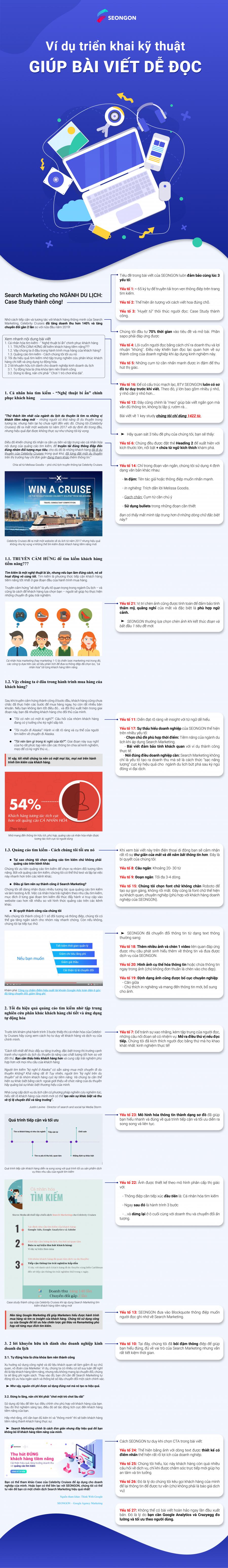 27 tips viết nội dung dễ đọc