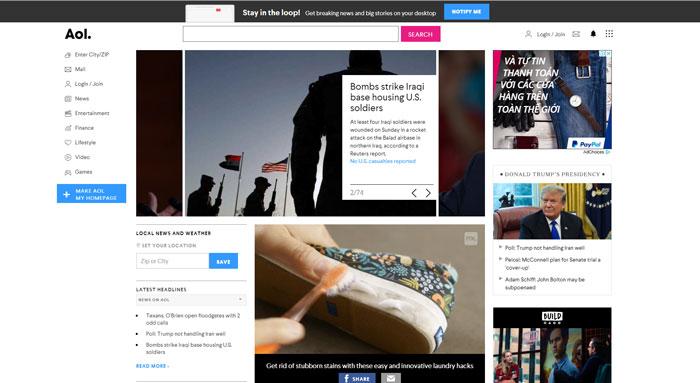 Công cụ tìm kiếm AOL.com