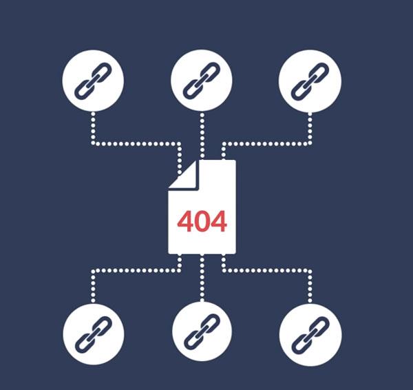 backlink lỗi 404