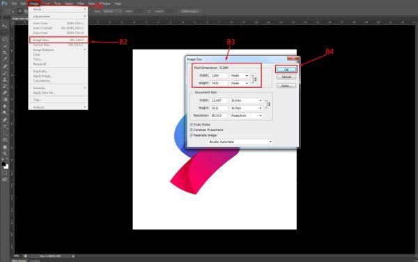 hướng dẫn chỉnh sửa kích thước ảnh bằng photoshop