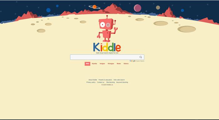 Công cụ tìm kiếm Kiddle