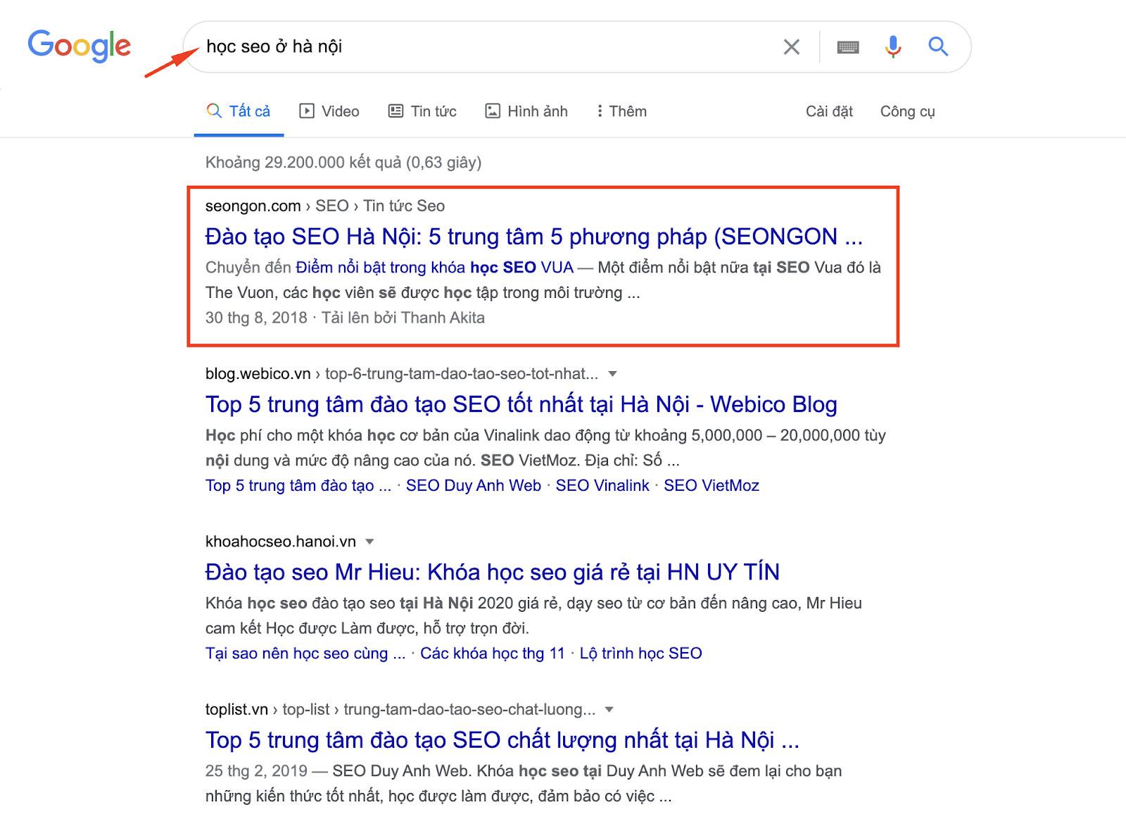 SEO Google là gì