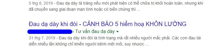 Title SEO khi hiển thị trên kết quả tìm kiếm Google