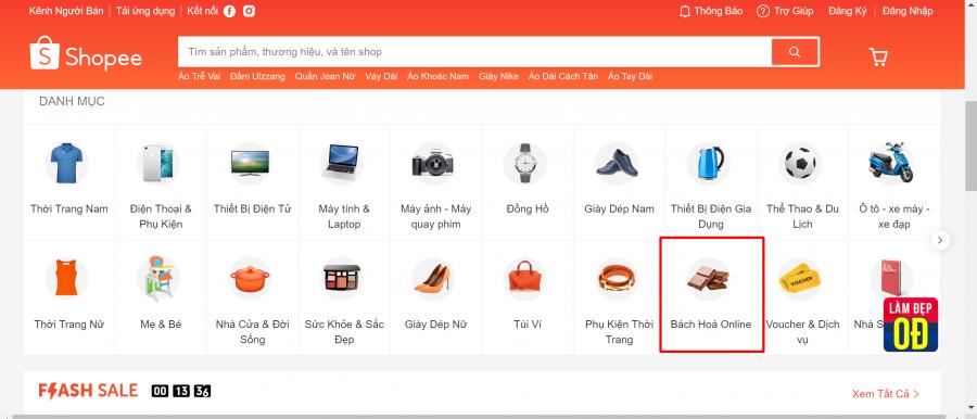 Các trang thương mại điện tử bổ sung mặt hàng nhu yếu phẩm