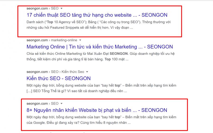 Title SEO dạng toplist là một dạng title phổ biến