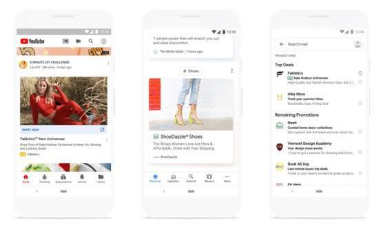 Google tự tùy chỉnh mẫu quảng cáo