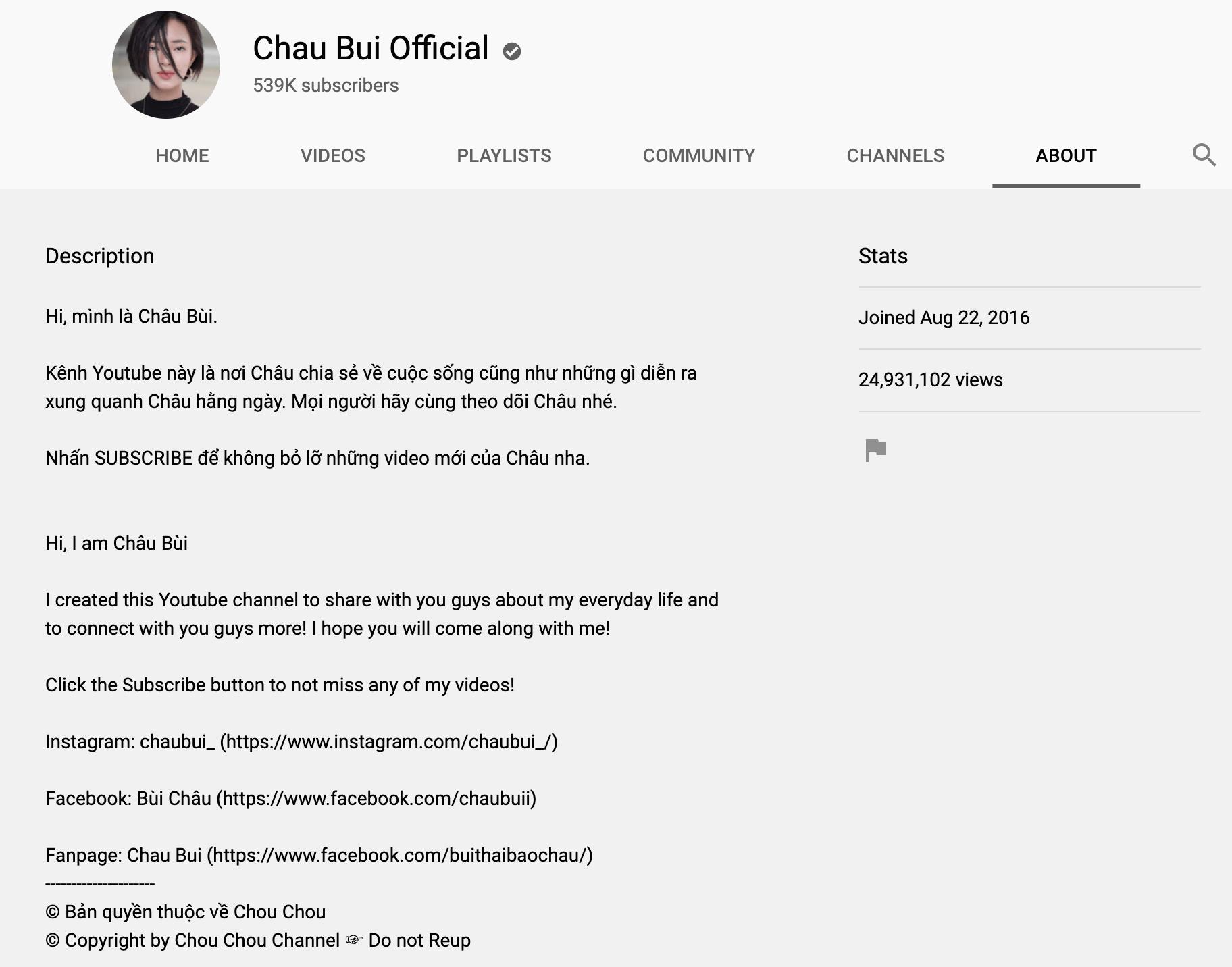 Thiết kế trang chủ kênh Youtube đẹp mắt