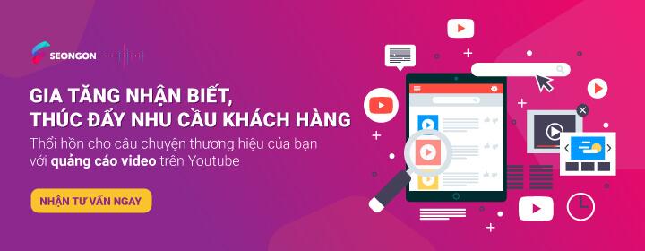 Dịch Vụ TM quảng cáo Youtube