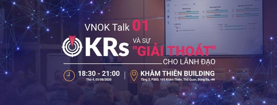 VNOK Talk 01: OKRs và sự giải thoát cho lãnh đạo