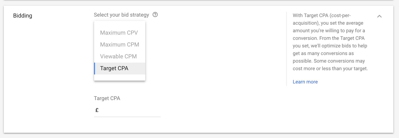 Chiến lược đặt giá thầu cho Quảng cáo video YouTube