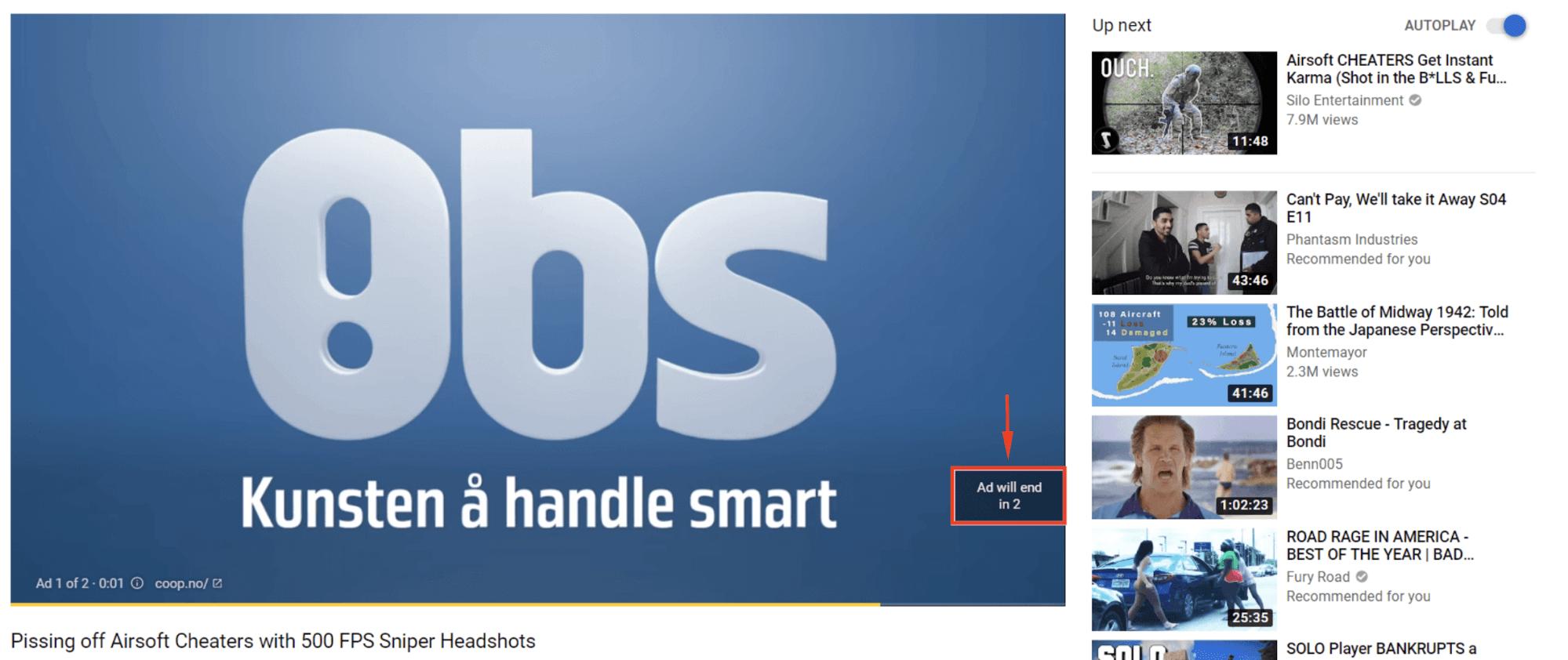 Quảng cáo YouTube Bumper Ads
