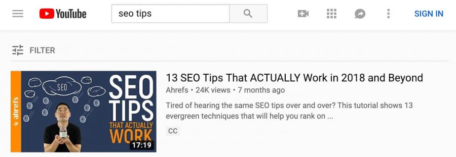 #1 SEO tips