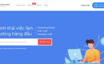 Nhân viên chăm sóc khách hàng sàn tuyển dụng Marketingworks.vn