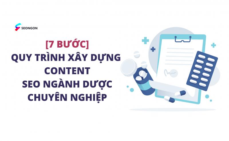 [7 Bước] Quy trình xây dựng Content SEO ngành dược chuyên nghiệp