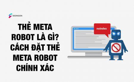 Thẻ Meta Robots là gì? Tư vấn cách đặt thẻ Meta Robots chính xác